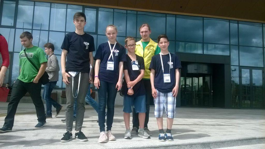 Сахалинские школьники приняли участие во всероссийской робототехнической олимпиаде.