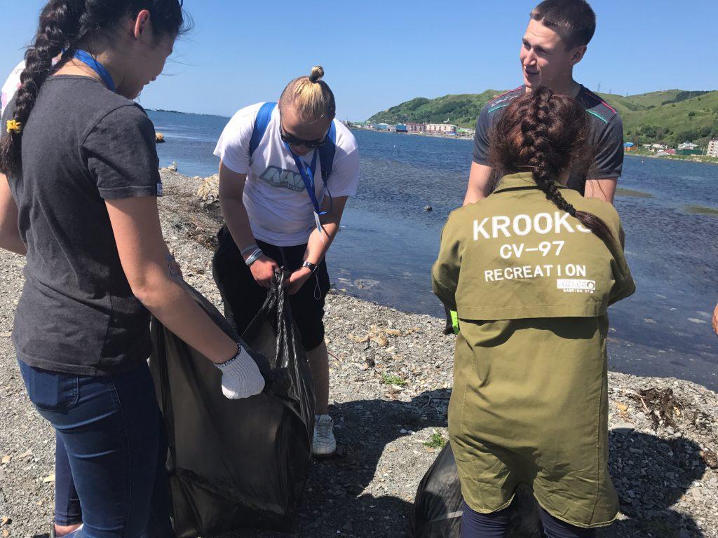 Экологический субботник с участниками форума «Новая земля - 2017».