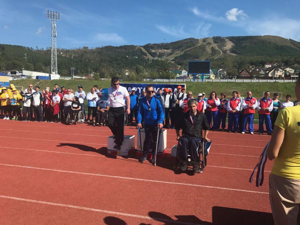 На стадионе «Спартак» состоялась церемония закрытия XII спартакиады среди людей с ограниченными возможностями здоровья.