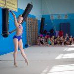 Сахалинские гимнастки готовятся к Дальневосточному первенству.