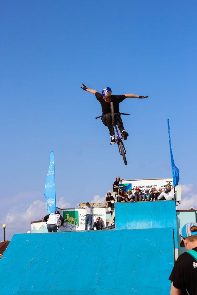 Экстремал с Сахалина завоевал серебро на фестивале во Владивостоке.