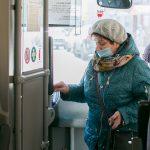 Маски для пассажиров автобусов.