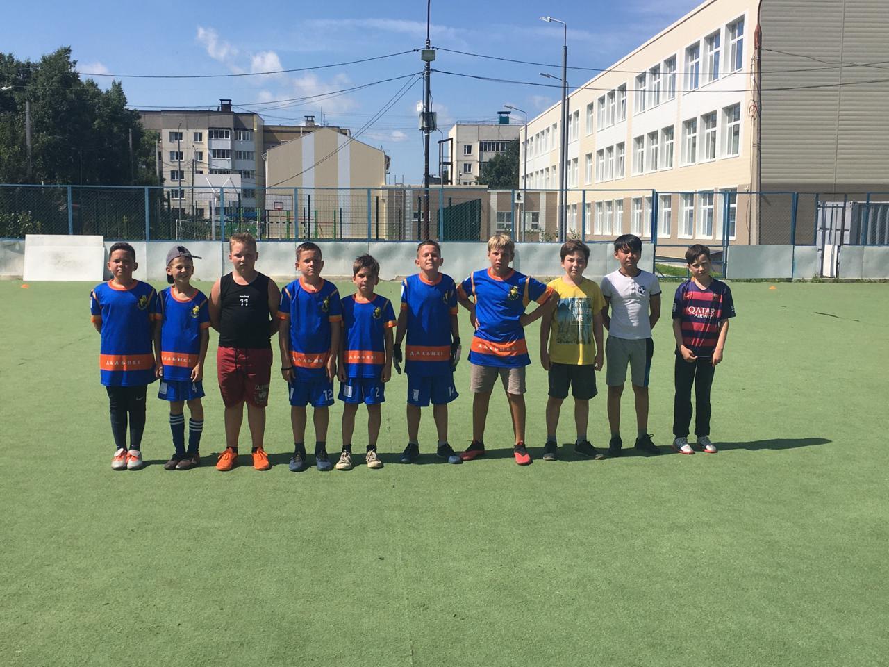 Футболисты из Дальнего: от дворовой команды до чемпионов