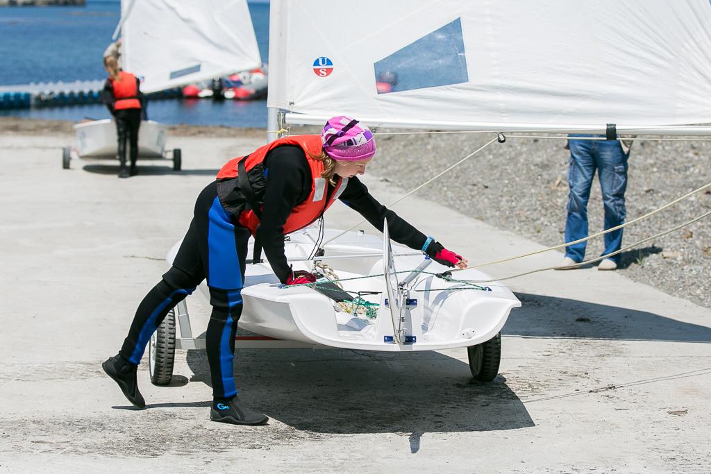 Смело заявили о себе! Серебро первенства ДФО по парусному спорту едет в Невельск!